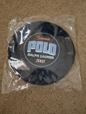 Vintage 2003 Unused Sealed New Ralph Lauren Summer Polo Frisbee