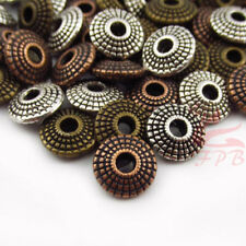 30 Silver Bronze Copper Mixed Colors Wholesale 8mm Spacer Beads BM0000051
