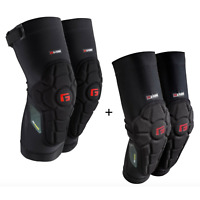 G-FORM PRO RUGGED Knee + Elbow Pads Guard Mtb Bmx Dh Downhill Bicycle Protective