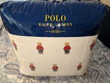 Ralph Lauren Boy Polo Bear King Size Comforter