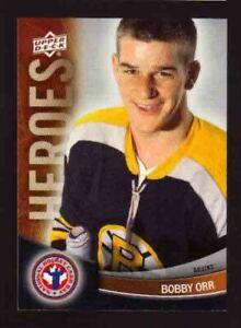 2012-13 Upper Deck National Hockey Card Day Heroes #12 BOBBY ORR Boston Bruins