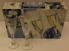 Verres de cuisine flûtes en cristal