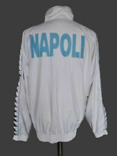 NAPOLI Italia Kappa Full Zip Tracksuit Italy Jacket SzL