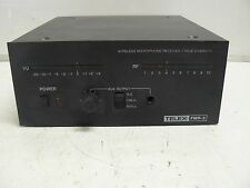 TELEX FMR-2 WIRELESS MICROPHONE RECEIVER / TRUE DIVERSITY FREQUENCY 177.800