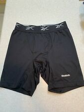 Mens Reebok Black Compression Shorts (M)