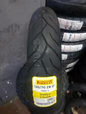 Pneumatico anteriore 120/70 R17 58W (FRONT) Pirelli DIABLO STRADA DOT2016