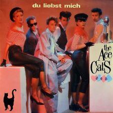 """7"""" THE ACE CATS Du liebst mich CBS 45rpm NDW Rockabilly orig. 1985 NEUWERTIG!"""