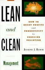 Lean and Clean Management: How to Boost Profits and Productivity by Reducing Pol