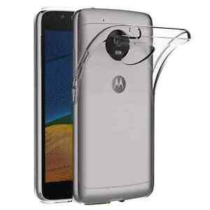 Coque pour Motorola Moto G5 ,Protection Antichocs Anti-Rayure Moto G5 -Transpar