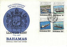 Used First Day Cover Bahamian Stamps (Pre-1973)