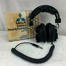 MGA Stereo Headphones Mitsubishi XHP-10 Made in Japan Vintage Tested