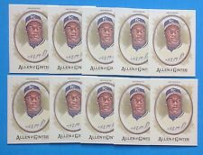 Lot of 10 . 2017 ALLEN GINTER . BO JACKSON . LEGEND . ROYALs .  #136