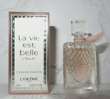 LANCOME ~ LA VIE EST BELLE L'ECLAT ~ EAU DE TOILETTE ~ MINI PERFUME IN BOX ~ 3ml