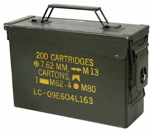 30 Cal ammo can 6 Pack - Grade 1