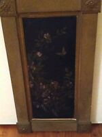 Pair of antique painting on board victorian era