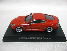 1:64 Kyosho ASTON MARTIN DBS Carbon Red Diecast Model Car