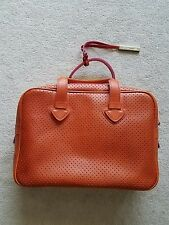 INNUE- LIGHT BROWN LEATHER HANDBAG MADE IN ITALY W/DETAIL