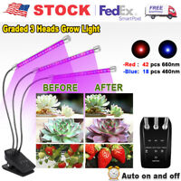 30W LED Grow Lights Full Spectrum For Indoor Hydroponics Plant Growing Lamp
