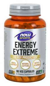 NOW Foods Sports  Sports Energy Extreme 90 Capsules Rhodiola Extract Yerba Mate