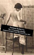 Eastman Kodak No 3 Cartridge Camera - Original Instructions from 1897 on DVD