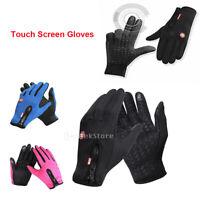 Winterhandschuhe Radfahren Thermal Windproof Touchscreen Frauen Männer Handschuh