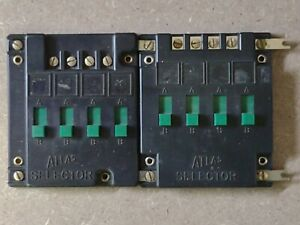 Atlas Track Selector Switch #215 ~ lot of 2 ~ Estate Find ~ UNTESTED