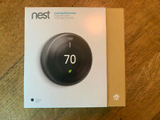 Nest 3rd Generation Learning Thermostat, Black
