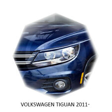 Volkswagen Tiguan 2012-2017 Eyebrows Eyelids Healight Cover Unpainted 2 pcs