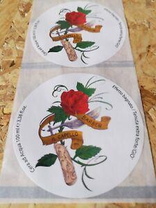1000 Etichette adesive - chiudibusta - adesivi