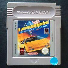 LAMBORGHINI AMERICAN CHALLENGE Nintendo Game Boy UK English・♔・RACING DMG-L7-UKV