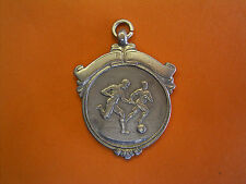 Sterling Silver Football Fob Medal - Churchward Cup Six-A-Side Winners 1936-37