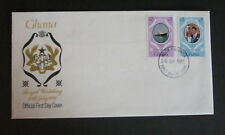 Ghana 1981 Royal Wedding Booklet pair FDC First Day Cover Princess Diana