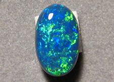2.73  ctw.  100% Natural  Australian  Black Opal Gem  Blue and Green
