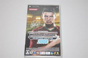 World Soccer Winning Eleven 2008 Japan Sony PSP game