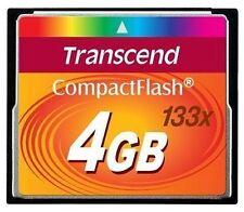 Transcend 4 GB CompactFlash I Speicherkarte