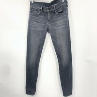 Citizen of Humanity women Avedon low rise Skinny Leg Jeans Sz 25 Stretch Gray