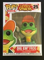 Funko POP! Ad Icons Kellogg's Honey Smacks Dig Em' Frog W/ .45 MM Protector!