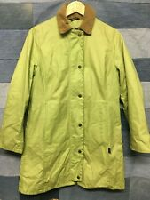 BARBOUR SUMMER NEWMARKET WAXED COTTON JACKET UK 10 z29