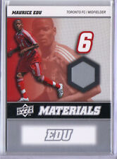 Maurice Edu 2008 08 Upper Deck UD MLS Materials Game Used Jersey #MM-20 Toronto