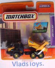 Matchbox Articulated Dump Truck JCB 726 ADT Black & Yellow