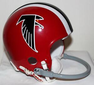 1970 - 1977  Atlanta Falcons Riddell Custom 1 Bar Mini Helmet