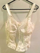 Qiemet Bridal Lace Bustier IVORY and SATIN - A1