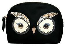 Kate Spade Owl Makeup Bag Small Marcy Star Bright Cosmetic Case Clutch Gift Bag