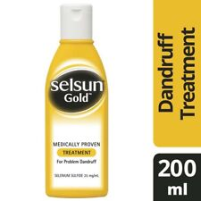 Selsun Medicated Scalp Treatment Shampoo 200mL