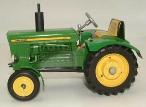 KOVAP John Deere 3120 Tin Tractor - clockwork forward/reverse gears -1/24- MIB