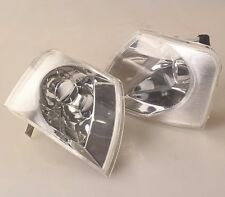Pair Front Corner Turn Signal Clear lamp Light for VW Passat B5 1998-2001