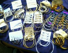 40 Pairs High-End Hoop Earrings Wholesale Jewelry Lot : ) US Seller!