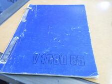 Moto Guzzi Spare Parts Manual Catalog V1000 G5