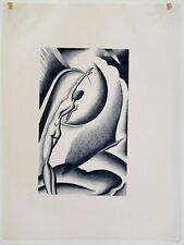 Paul Landacre: Alcestis, 1934. Signed, Numbered, Fine Art Print