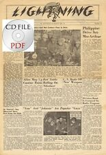 CD File Lightning - 78th Infantry Division Booklet & Newspaper 1944 3 Tennessee
